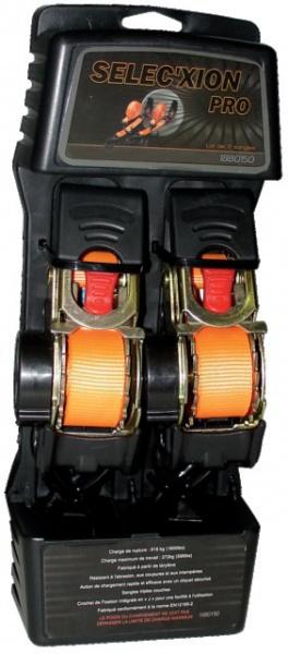 KIT 2 SANGLES RAPPEL AUTOMATIQUE 25x1800mm