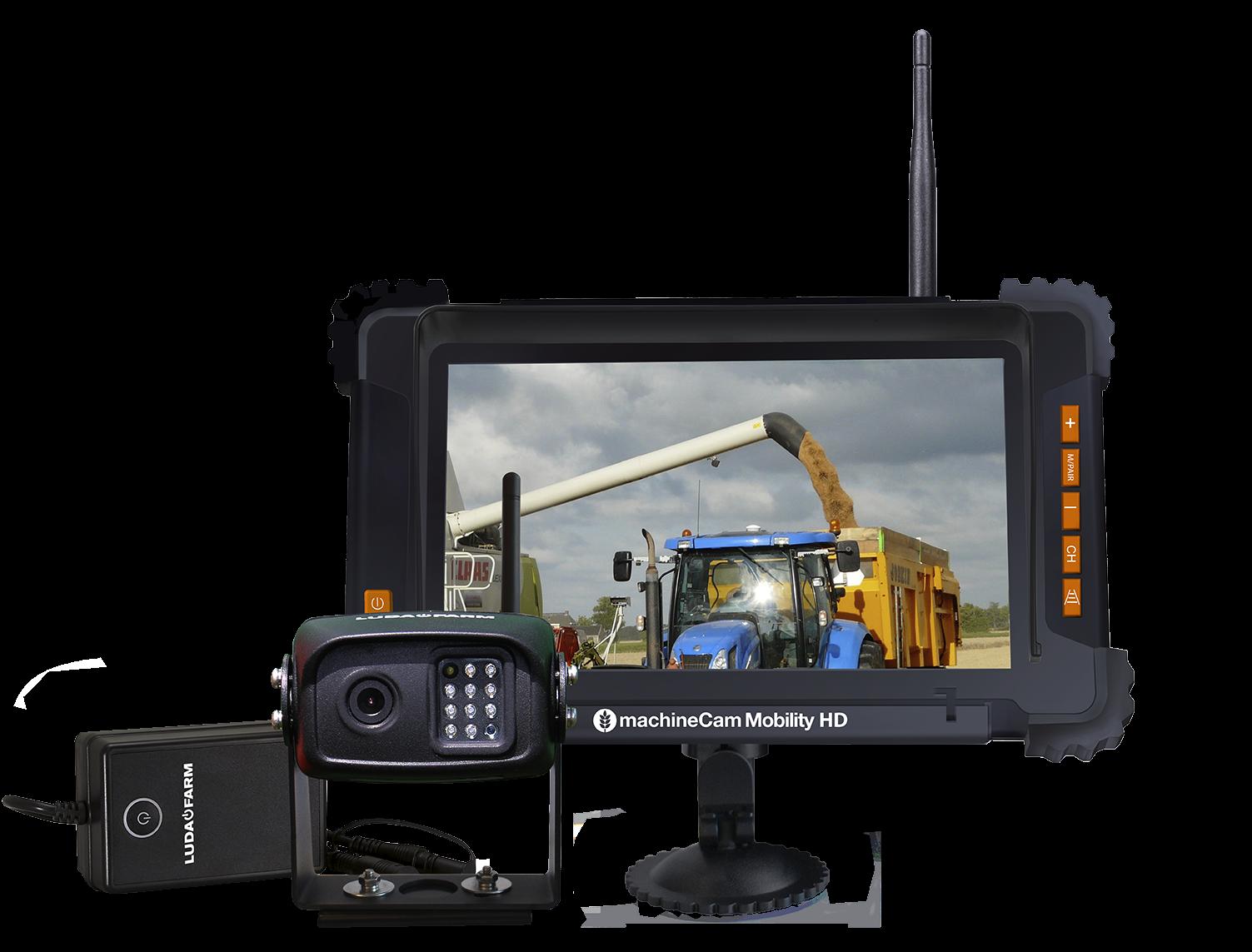 Kit Caméra de recul sans fil MachineCam Mobility HD - Luda Farm