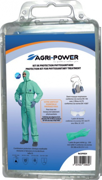 Kit de protection phytosanitaire complet AGRIPOWER