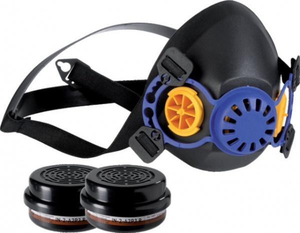 Kit demi-masque + 2 cartouches A2P3