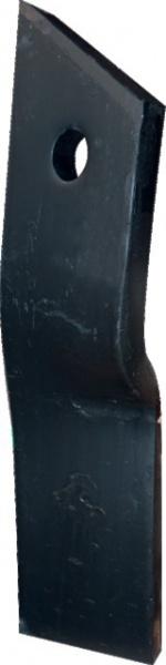 LAME DE ROTALABOUR 250X60X12 MM GAUCHE ADAPTABLE HOWARD