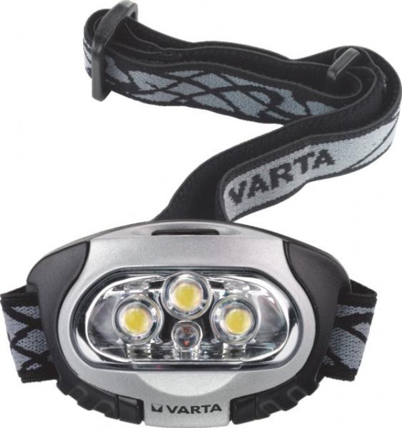 LAMPE FRONTALE HEAD LIGHT 4LED 3X LR03 VARTA