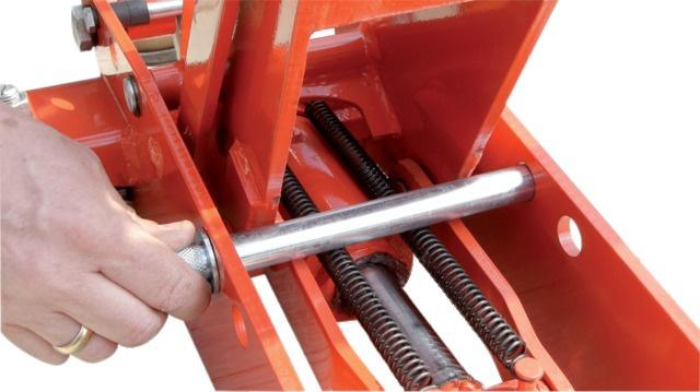 Lève tondeuse auto portée hydraulique 800 kg