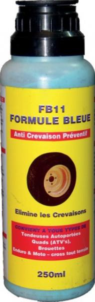 LIQUIDE ANTI-CREVAISON 250ML FB11 FORM. BLEUE