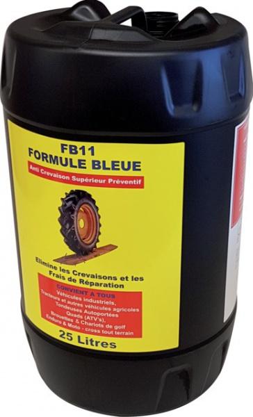 LIQUIDE ANTI-CREVAISON 25L. FB11 FORM. BLEUE