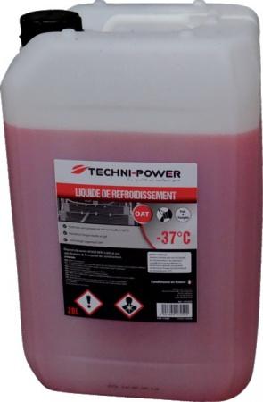 Liquide refroidissement oat universel-37°c 20l techni-power