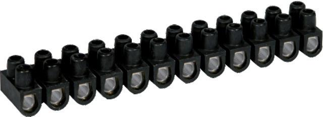 Lot de trois barrettes de dominos 4, 6 et 10 mm².