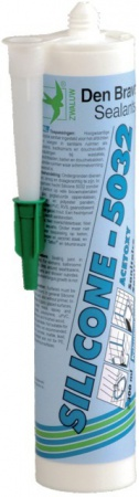 MASTIC SILICONE 5032 BLANC CART. 300ML