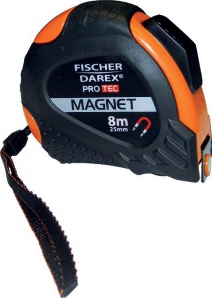 METRE BI-MATIERE 8MX25MM AUTOBLOQUANT FISCHER