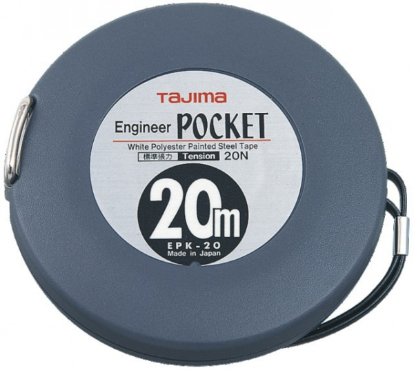 METRE ENGINEER POCKET 20MX10MM ABS RUB.ACIER