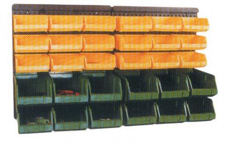 PANNEAU MURAL PLASTIQUE  +  30 BACS A BEC