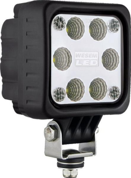 PHARE DE TRAVAIL 6 LED CARRE  12/24V
