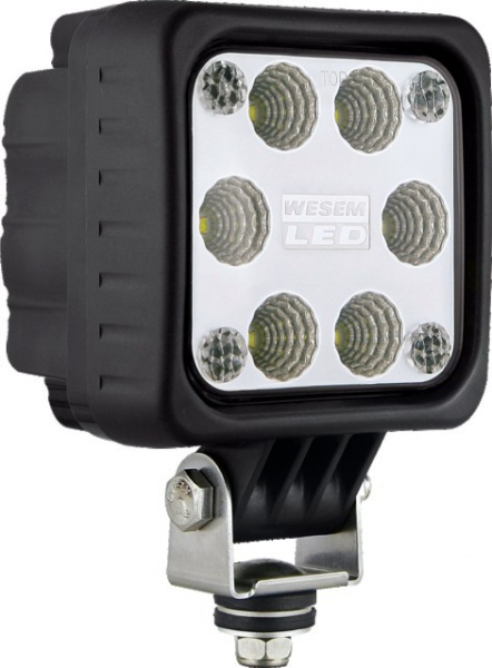 PHARE DE TRAVAIL 6 LED CARRE 1500LM 12/24V