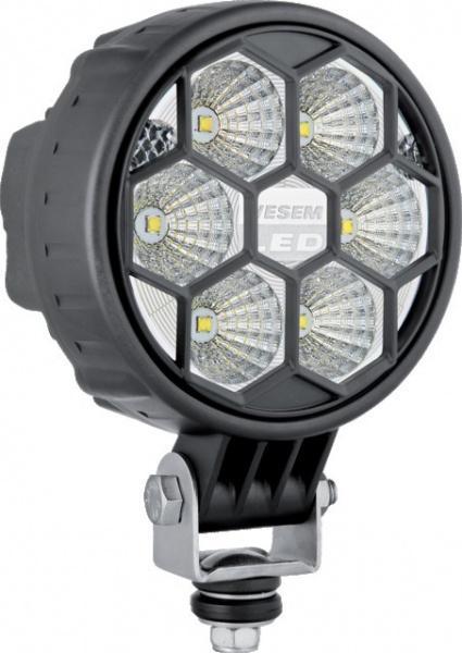 PHARE DE TRAVAIL 6 LED ROND 12/24V 1500lm