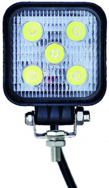 PHARE LED CARRE 12/24V 15W 600 LM