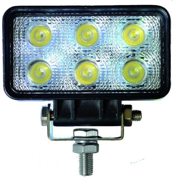 PHARE LED CARRE 12/24V 18W 1000 LM