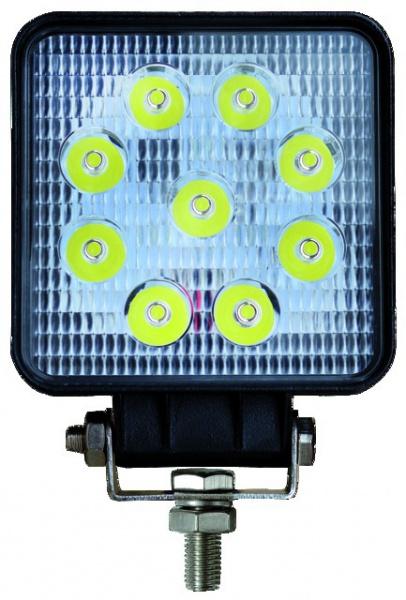 PHARE LED CARRE 12/24V 27W 1400 LM