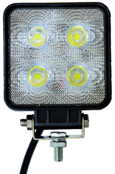 PHARE LED CARRE 12/24V 40W 2800 LM