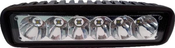 PHARE LED rectangle 12/24V 18W 1400 LM