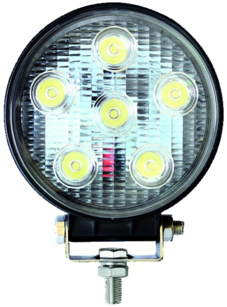 PHARE LED ROND 12/24V 18W 900LM ECLAIRAGE LARGE