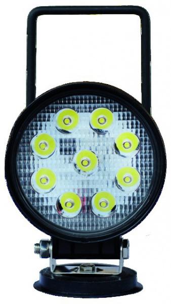 PHARE LED ROND 12/24V 27W 1400 LM