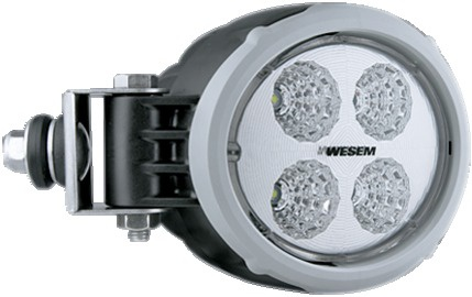 PHARE TRAVAIL 4 LED OVAL LATERAL 1500LM 12/24V