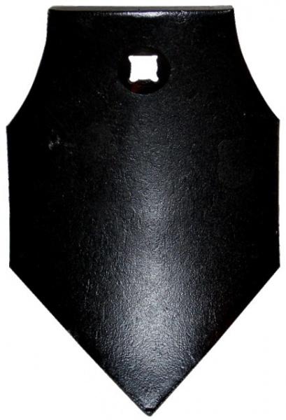 POINTE DE DECHAUMEUR 205X140X10 MM ADAPTABLE RAZOL 003488