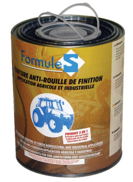 Pot de laque antirouille jaune Huard 1L