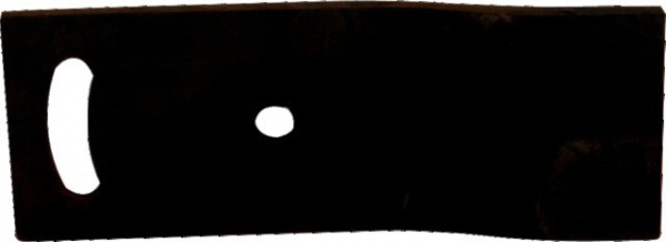 RALLONGE DE VERSOIR GAUCHE PETIT MODELE BORE ADAPTABLE NAUD P03080101G