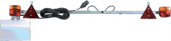 RAMPE EXTENSIBLE 1.40=>2.10M CABLE ALIMENTATION 12M