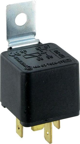 RELAIS 12V-30A-5 BORNES 5X6,3mm (BOX)