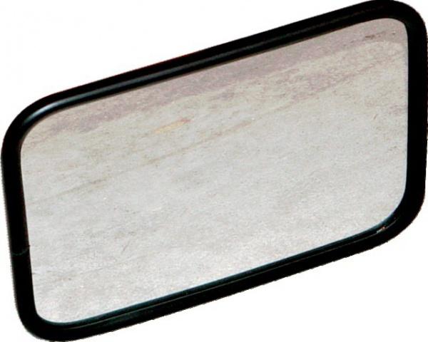 RETROVISEUR GLACE BOMBEE 156X216 SUPPORT DIAMETRE 18 MM