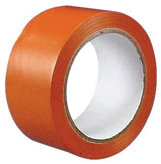 RUBAN ADHESIF PVC ORANGE 50X33M