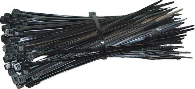 Sachet de 100 colliers de serrage 280 X 4,5 mm