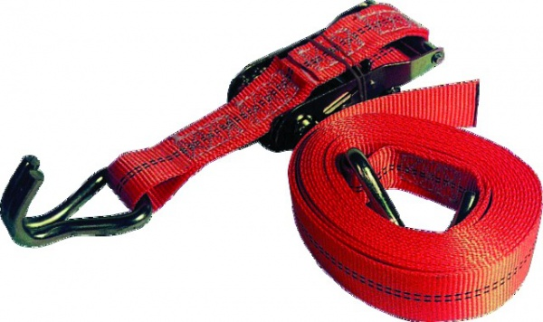 SANGLE ARRIMAGE 800Kg BAGAGERE 2 DOIGTS RAPPROCHES (ROUGE)