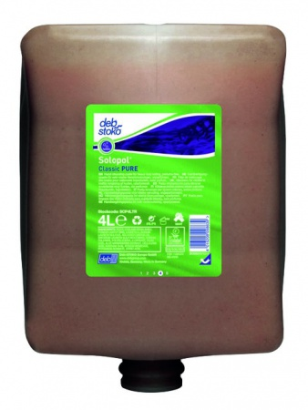 SAVON SOLOPOL CLASSIC PURE 4L SALISSURES TRES FORTES
