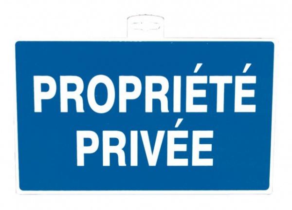 """SIGNALETIQUE \""""PROPRIETE PRIVEE\"""""""