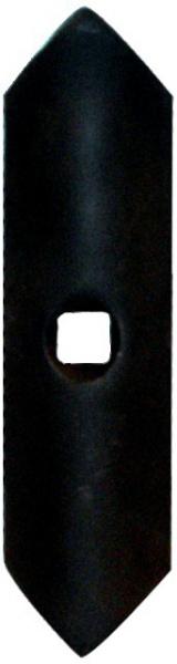 Soc de vibroculteur droit réversible 40X6X195 mm