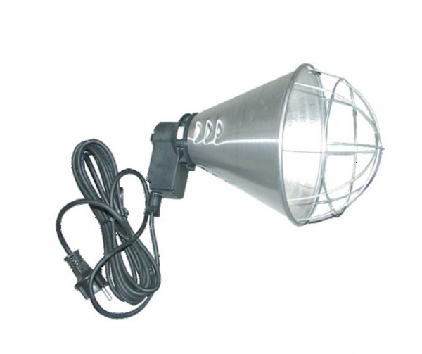 SUPPORT LAMPE INFRA ROUGE