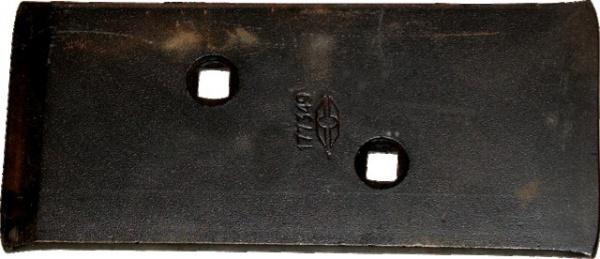Talon plaque contre sep réversible origine Grégoire et Besson 177349