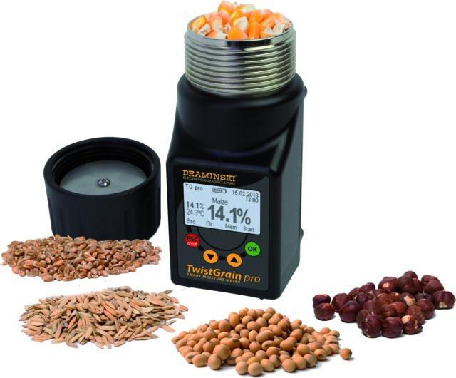 Testeur d\'humidité pour céréales twist grain pro