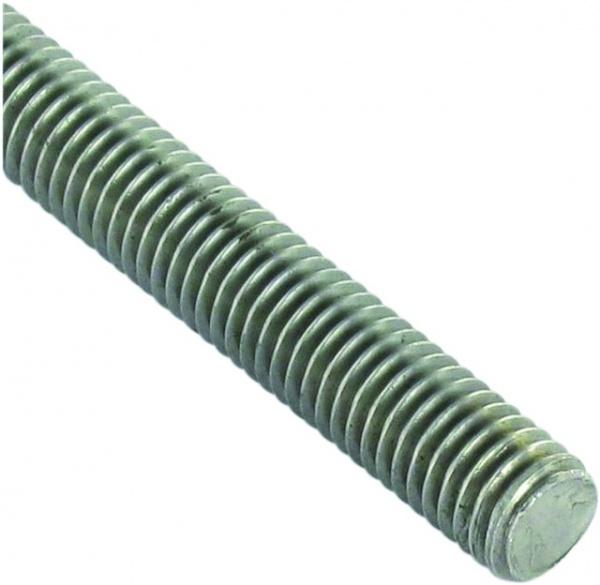 TIGE FILETEE INOX M06 X 1,00  LG 1M