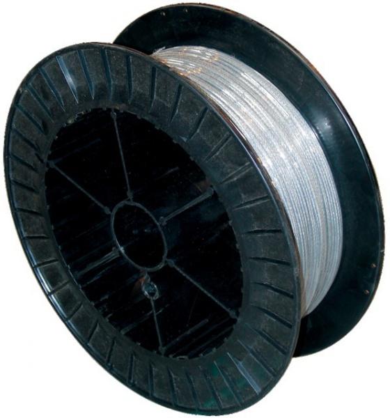 Touret de 200 mètres de câble galvanisé 3 mm 720 Kg