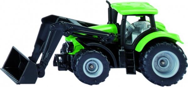 Tracteur deutz-fahr avec chargeur frontal blister