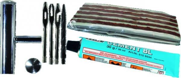 TRESSE LONGUE + ACCES REPARATION PNEU (BOX)