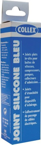 TUBE JOINT SILICONE BLEU 100g